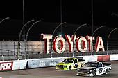 #19: Derek Kraus, McAnally Hilgemann Racing, Toyota Tundra Gates Hydraulics/NAPA Belts & Hoses #88: Matt Crafton, ThorSport Racing, Ford F-150 Ideal Door/Menards