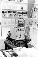 UNDATED FILE PHOTO - Leandre Bergeron at Montreal's book fair.<br /> <br /> <br /> <br /> <br /> Photo : AQP - Alain Renaud