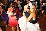 Botanical Gardens Wedding, NYC<br /> Greenwich, CT. bride and groom<br /> Scottish groom, kilts.<br /> Venezuelan - Argentine bride.