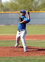 Jeremiah Estrada - Chicago Cubs 2018 spring training (Bill Mitchell)