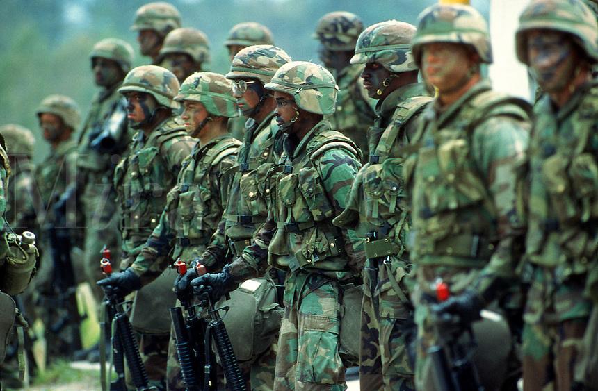 U.S. Marines, Camp Lejeune, North Carolina..