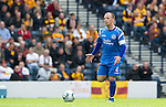 Motherwell v St Johnstone.....16.04.11  Scottish Cup Semi-Final.Jody Morris cuts a lonely figure as he appeals for movement from his team mates.Picture by Graeme Hart..Copyright Perthshire Picture Agency.Tel: 01738 623350  Mobile: 07990 594431