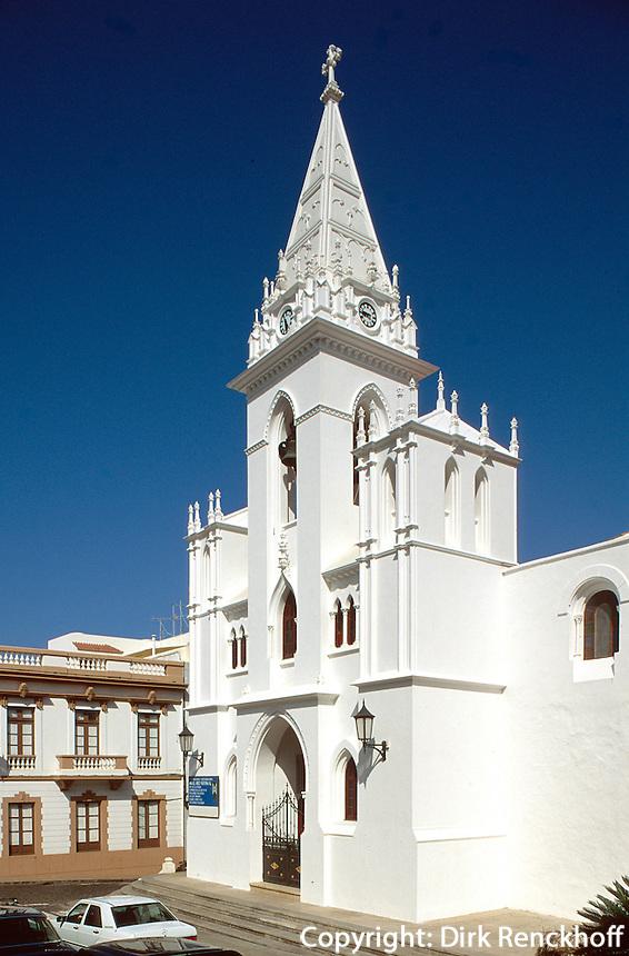 Spanien, Kanarische Inseln, Teneriffa, Kirche in Los Silos