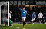 Nicky Clark celebrates his fourth goal