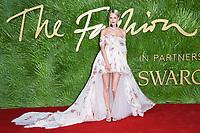 Poppy Delevingne<br /> arriving for The Fashion Awards 2017 at the Royal Albert Hall, London<br /> <br /> <br /> ©Ash Knotek  D3356  04/12/2017