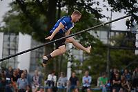 FIERLJEPPEN: BURGUM: 18-07-2020, ©foto Martin de Jong