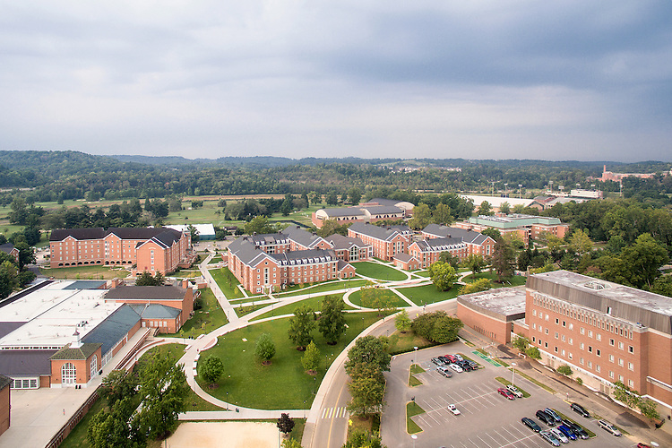 Ohio University New Student Housing Phase One Aerial Photography | Corna