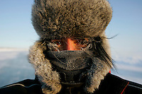 Christiane Kappes on the iceroad