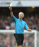 Referee Martin Atkinson<br /> <br /> Photographer Rob Newell/CameraSport<br /> <br /> The Premier League - Arsenal v West Ham United - Saturday 7th March 2020 - The Emirates Stadium - London<br /> <br /> World Copyright © 2020 CameraSport. All rights reserved. 43 Linden Ave. Countesthorpe. Leicester. England. LE8 5PG - Tel: +44 (0) 116 277 4147 - admin@camerasport.com - www.camerasport.com