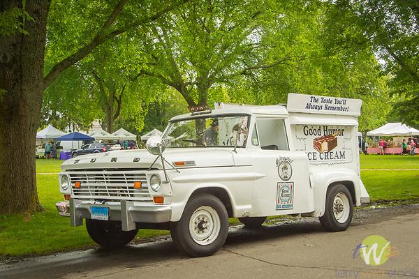 1960's Ford Good Humor Ice Cream Truck.