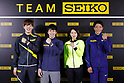 Newly formed Team SEIKO holds press conference