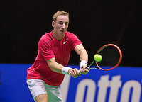 December 18, 2014, Rotterdam, Topsport Centrum, Lotto NK Tennis,  Mark de Jong (NED)<br /> Photo: Tennisimages/Henk Koster