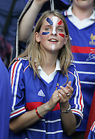 French Fan. Italy defeated France on penalty kicks after leaving the score tied, 1-1, in regulation time in the FIFA World Cup final match at Olympic Stadium in Berlin, Germany, July 9, 2006.