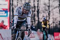 CX world champion Mathieu Van der Poel (NED/Alpecin-Fenix) wins the UCI Cyclocross World Cup Namur 2020 (BEL) Men's Race<br /> <br /> ©kramon