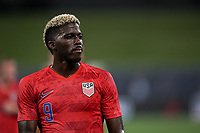 St. Louis, MO - SEPTEMBER 10: Gyasi Zardes #9 of the United States during their game versus Uruguay at Busch Stadium, on September 10, 2019 in St. Louis, MO.