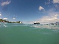 Schnorcheln am Strand L'Anse Mitan bei Fort-de-France auf Martinique