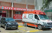 06/04/2021 - MOVIMENTO EM HOSPITAL DE TERESINA
