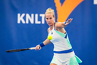 Amstelveen, Netherlands, 20  December, 2020, National Tennis Center, NTC, NK Indoor, National  Indoor Tennis Championships, Final womans single  : Richel Hogenkamp (NED) <br /> Photo: Henk Koster/tennisimages.com