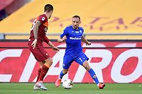 Franck Ribery of ACF Fiorentina in action during the Serie A football match between AS Roma and ACF Fiorentina at stadio Olimpico in Roma (Italy), July 26th, 2020. Play resumes behind closed doors following the outbreak of the coronavirus disease. <br /> Photo Antonietta Baldassarre / Insidefoto