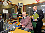 ED Myers, broadcaster, who has just joined Clare FM, with Michael Ryan, Sales Manager, who has been with the compamy for 19 years. Photograph by John Kelly.