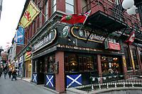 Highlander pub  on Rideau Street ..Ottawa, Capital of Canada....photo : (c)  Images Distribution..