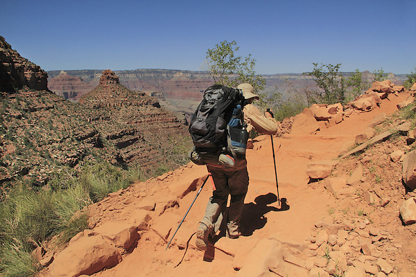 Backpacker ascending the Bright Angel Trail from Phantom Ranch to South Rim, northern Arizona. .  John leads hiking and photo tours throughout Colorado. .  John leads hikes and private photo tours in Boulder and throughout Colorado. Year-round. . John offers private photo tours in Grand Canyon National Park and throughout Arizona, Utah and Colorado. Year-round.
