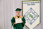 Dickerson, Preston  received their diploma at Bryan Station High school on  Thursday June 4, 2020  in Lexington, Ky. Photo by Mark Mahan Mahan Multimedia