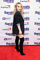 PHILADELPHIA, PA - DECEMBER 6 :  Sabrina Carpenter pictured back stage at Q102's Jingle Ball at a meet and greet at the Wells Fargo Center in Philadelphia, Pa on December 6, 2017  ***HOUSE COVERAGE Credit: Star Shooter / MediaPunch /nortephoto.com NORTEPHOTOMEXICO