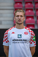16th August 2020, Rheinland-Pfalz - Mainz, Germany: Official media day for FSC Mainz players and staff; Keeper Robin Zentner FSV Mainz 05