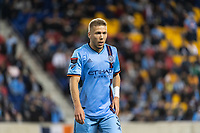 HARRISON, NJ - MARCH 11: Anton Tinnerholm #3 of NYCFC during a game between Tigres UANL and NYCFC at Red Bull Arena on March 11, 2020 in Harrison, New Jersey.