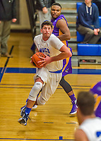 22 November 2015: Yeshiva University Maccabee Forward Shelby Rosenberg, a Senior from Woodmere, NY, drives for a layup during the first half of play against the Hunter College Hawks at the Max Stern Athletic Center  in New York, NY. The Maccabees defeated the Hawks 81-71 in non-conference play, for their second win of the season. Mandatory Credit: Ed Wolfstein Photo *** RAW (NEF) Image File Available ***