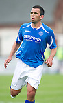 St Johnstone FC....Season 2011-12.Callum Davidson.Picture by Graeme Hart..Copyright Perthshire Picture Agency.Tel: 01738 623350  Mobile: 07990 594431