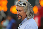 HOT SPRINGS, AR - MARCH 17: Trainer Steve Asmussen before the Rebel Stakes at Oaklawn Park on March 19, 2018 in Hot Springs, Arkansas. (Photo by Justin Manning/Eclipse Sportswire/Getty Images)
