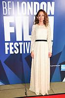 Gloria Huwiler<br /> arriving for the 2017 London Film Festival Awards at Banqueting House, London<br /> <br /> <br /> ©Ash Knotek  D3336  14/10/2017