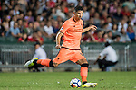 Liverpool FC midfielder Marko Grujic in action during the Premier League Asia Trophy match between Liverpool FC and Crystal Palace FC at Hong Kong Stadium on 19 July 2017, in Hong Kong, China. Photo by Weixiang Lim / Power Sport Images