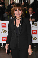 Lorraine Kelly<br /> arriving for the TRIC Awards 2019 at the Grosvenor House Hotel, London<br /> <br /> ©Ash Knotek  D3487  08/03/2019