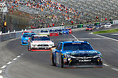2017 NASCAR Xfinity Series<br /> My Bariatric Solutions 300<br /> Texas Motor Speedway, Fort Worth, TX USA<br /> Saturday 8 April 2017<br /> Daniel Suarez, Juniper Toyota Camry and Ryan Blaney<br /> World Copyright: Russell LaBounty/LAT Images<br /> ref: Digital Image 17TEX1rl_2922