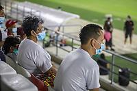 BARRANQUIILLA - COLOMBIA, 05-08-2021: Barranquilla F. C. y Jaguares de Monteria F. C. durante partido de la fase III vuelta Copa BetPlay DIMAYOR 2021 en el estadio Olímpico Romelio Martinez de la ciudad de Barranquilla. / Barranquilla F. C. And Jaguares de Monteria F. C. during the match of phase III second leg BetPlay DIMAYOR 2021 Cup at the Romelio Martinez stadium in Barranquilla city. Photo: VizzorImage / Jairo Cassiani / Cont