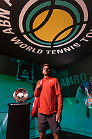 Rotterdam, The Netherlands, 12 Februari 2019, ABNAMRO World Tennis Tournament, Ahoy, first round singles: David Goffen (BEL), Photo: www.tennisimages.com/Henk Koster