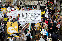 """17.09.2016 - """"Refugees Welcome Here"""" - March 2016"""