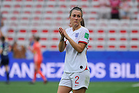 Lucy Bronze (England)<br /> Nice 09-06-2019 <br /> Football Womens World Cup <br /> England - Scotland <br /> Inghilterra - Scozia <br /> Photo Norbert Scanella / Panoramic/Insidefoto <br /> ITALY ONLY