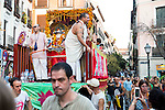 The Ratha Yatra Festival 2016 in Madrid. September 03, Spain. 2016. (ALTERPHOTOS/BorjaB.Hojas)
