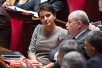 NAJAT VALLAUD BELKACEM - ASSEMBLEE NATIONALE - SEANCE DE QUESTIONS AU GOUVERNEMENT
