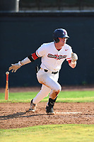 Ryan Wetzel (24) (Baker) of the Bristol State Liners during a game against the Kingsport Axemen on June 13, 2021 at Boyce Cox Field in Bristol, Virginia. (Tracy Proffitt/Four Seam Images)