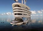 Luxurious 8-deck Galleon superyacht by Steven Kozloff