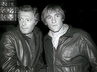 Marcello Mastroianni and Gérard Depardieu 1978<br /> Photo By Adam Scull/PHOTOlink.net