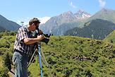 """Der Jesik Nationalpark liegt 70km östlich von Almaty, Kasachstan. Auch hier dokumentiert die Gesellschaft """"Grüne Rettung"""" regelmäßig die Veränderungen der Natur, um Aufmerksamkeit für die Probleme zu schaffen.Rawil Nasirow fährt hierfür wöchentlich durch die Nationalparks um Almaty."""