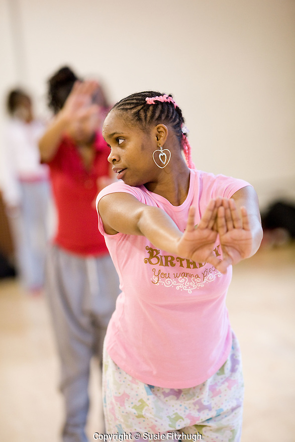 Dwayne Jackson's All City Hip Hop Dance class at Youngstown Cultural Arts Center in West Seattle.