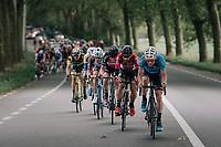 Timothy Dupont (BEL/Veranda's Willems-Crelan) leading the peloton<br /> <br /> 77th Euro Metropole Tour 2017<br /> La Louvière > Tournai (BEL): 188.6 km