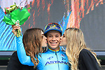 17th April 2018, Trento, Italy; Cycling, Tour of the Alps, second stage, Lavarone to Alpe di Pampeago; Miguel Angel Lopez Moreno (Astana)